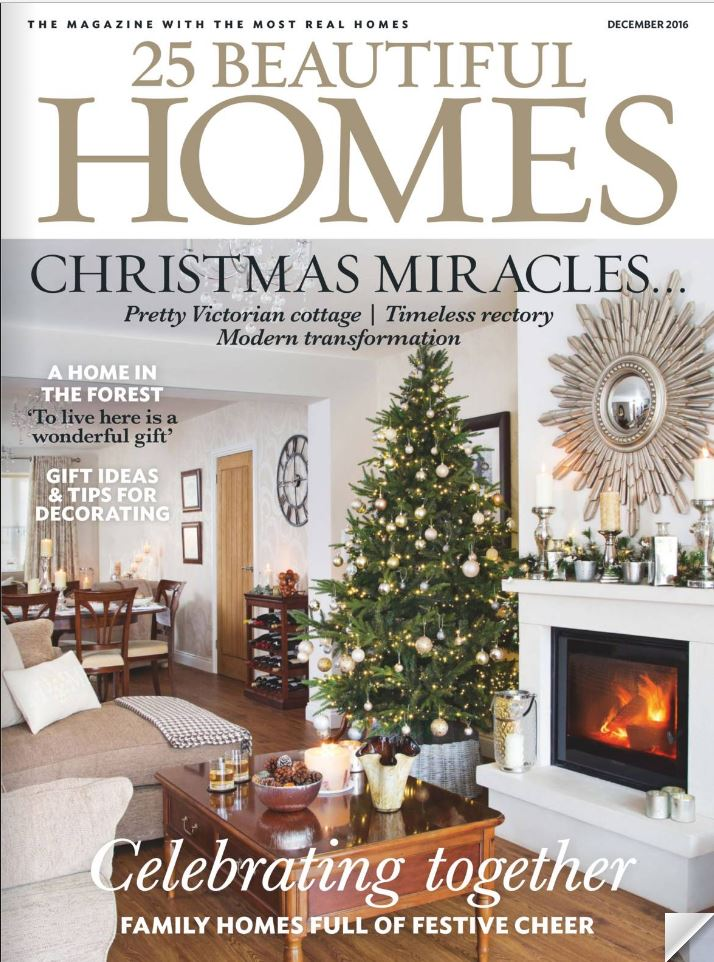 25 Beautiful Homes December 2016