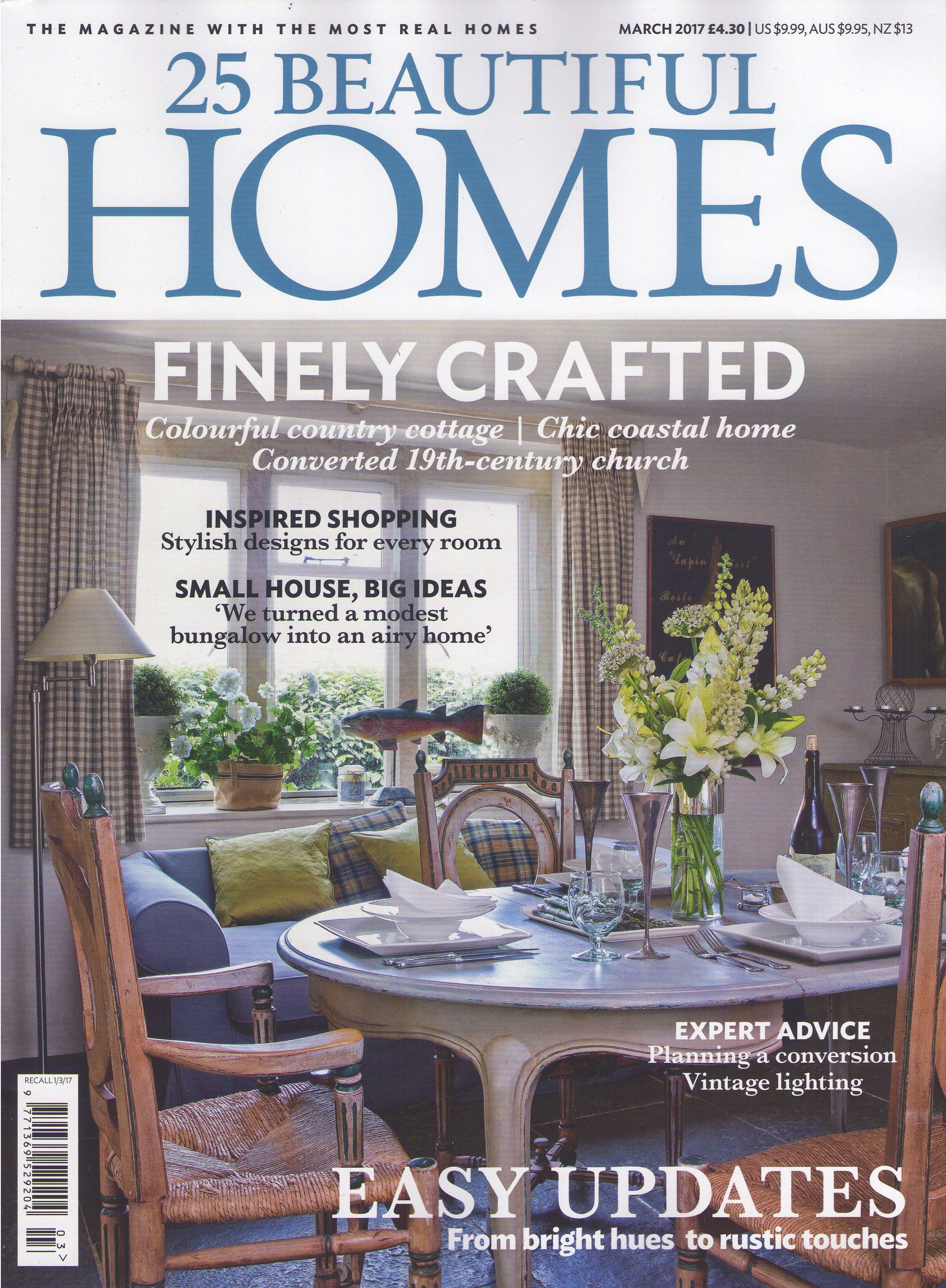 25 Beautiful Homes Marzo 2017