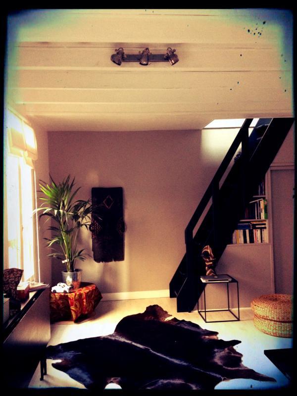 Perfetto stile vintage industriale per il mio salotto con la lampada da parete Bistrot