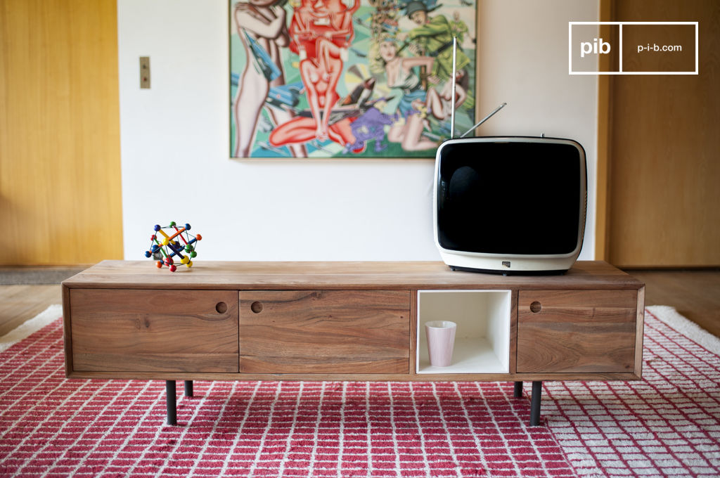 mobile da tv vintage bascole un design contemporaneo pib