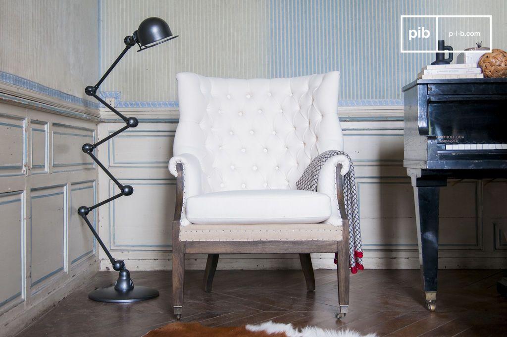Poltrona barocca cambridge design stile country chic pib for Poltrone country chic