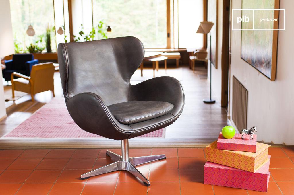Poltrona vintage orchestra grande design e comfort pib - Poltrone vintage design ...