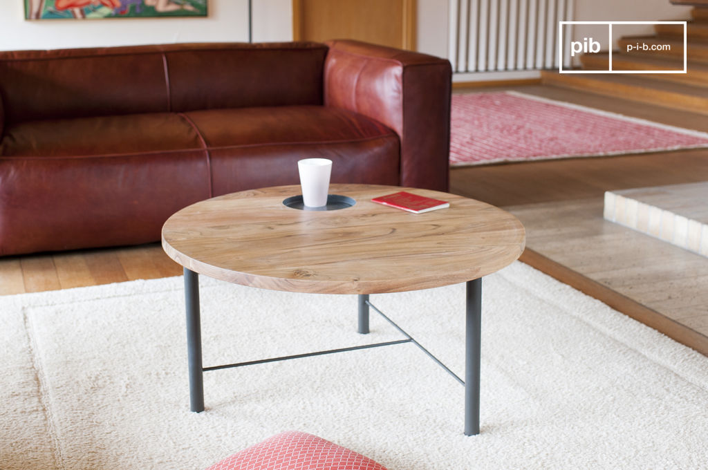 Tavolo da caff in legno bascole design scandinavo pib - Cambiare colore mobile legno ...