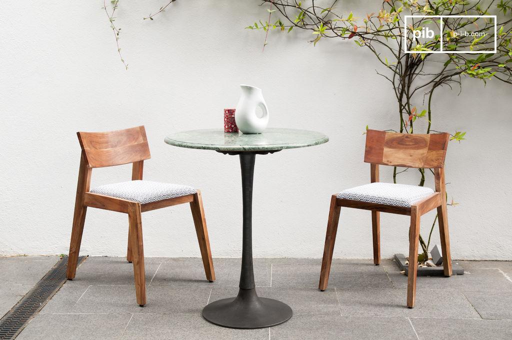 Tavolo da pranzo in marmo tavolo scandinavo ideale per pib - Tavolo scandinavo ...