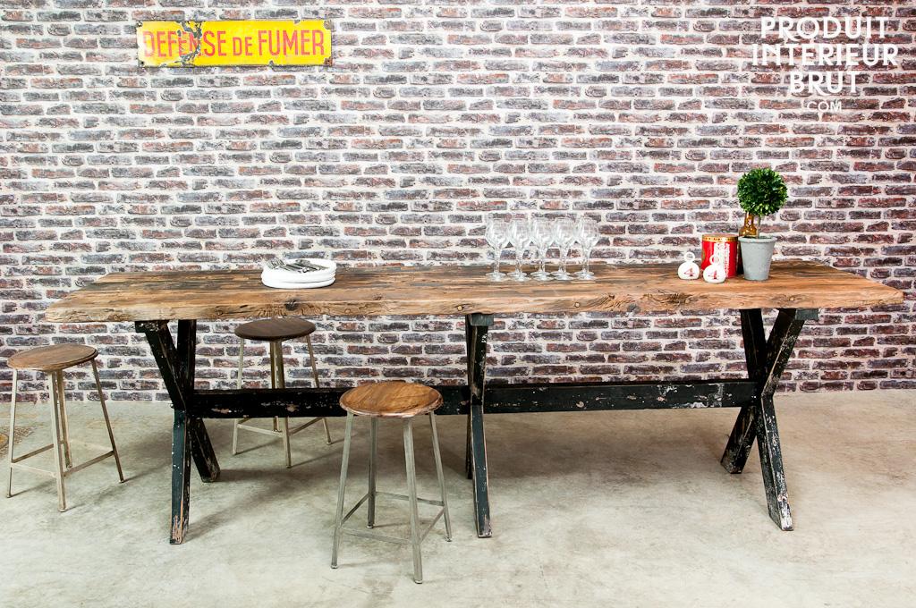 Tavolo da bar alto in legno sullivan tavolo da bar alto for Tavolo alto da bar
