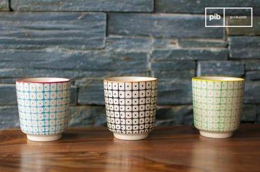 3 tazzine da caffè Brunï
