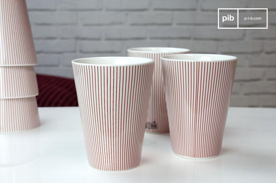 6 tazze Teli