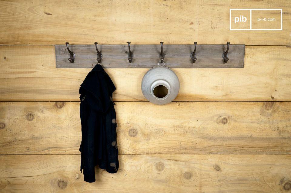 Appendiabiti a muro lungo 140 cm