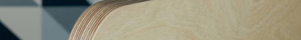 Materiali prima di tutto Appendiabiti svedese in legno