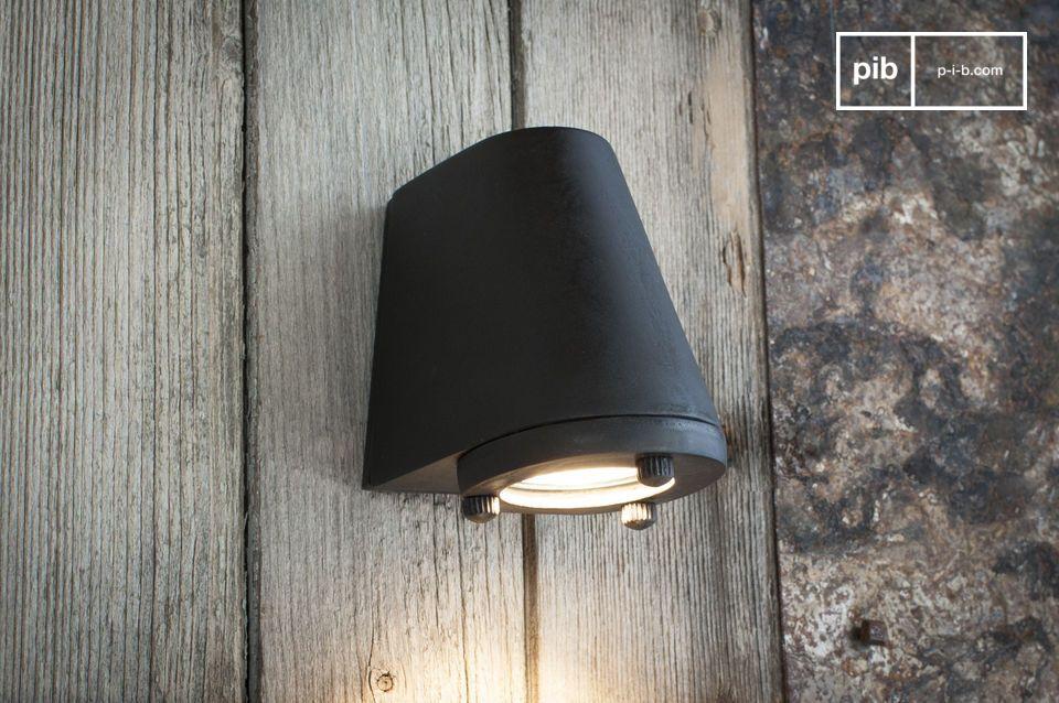 Sparta lampada da parete in ottone massiccio applique da parete
