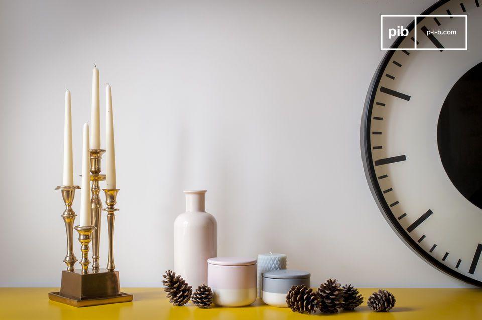 Un supporto elegante e originale per le vostre candele