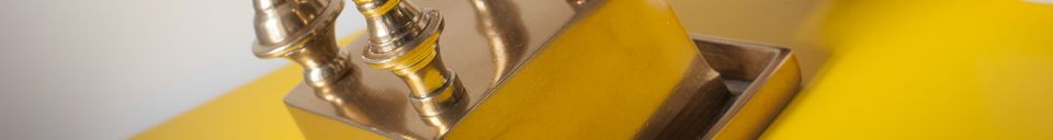 Materiali prima di tutto Candelabro in metallo Kold