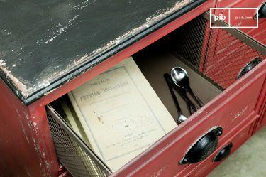 Cassettiera in metallo Brighton