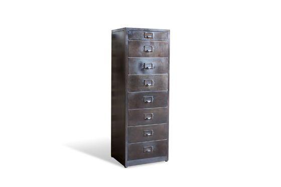 Cassettiera in metallo con 8 cassetti Terex Foto ritagliata