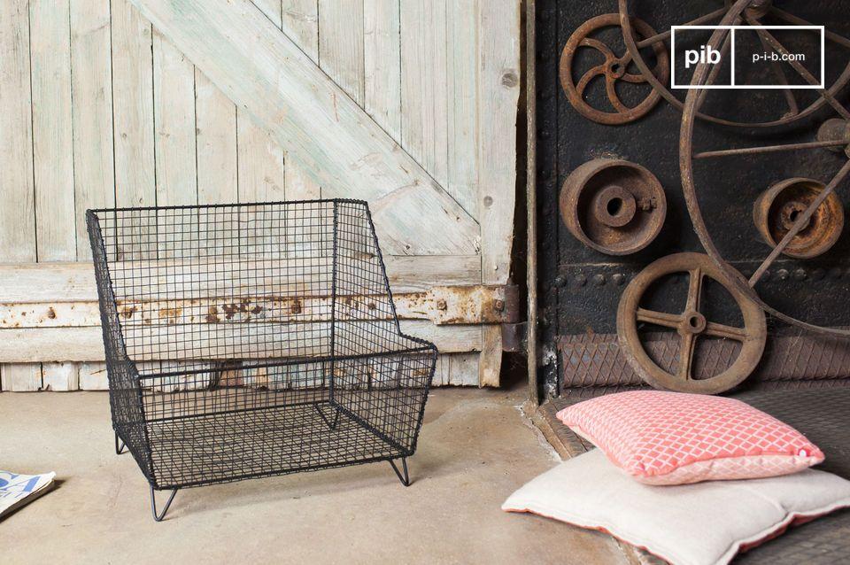 La cesta Woburn trae ispirazione dallo stile industriale ed è caratterizzata da originalità e