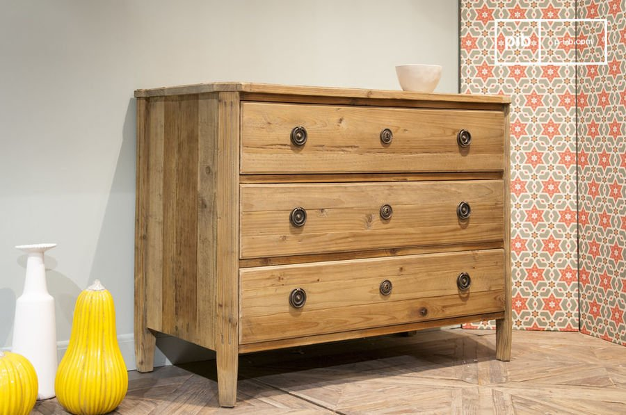 Wooden Chest of Drawers Sonia