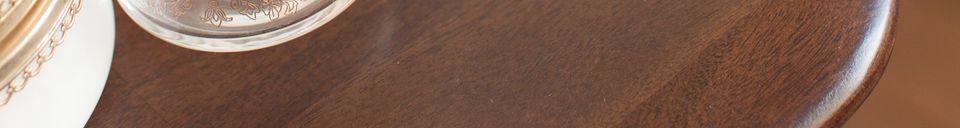 Materiali prima di tutto Console in legno Larssön