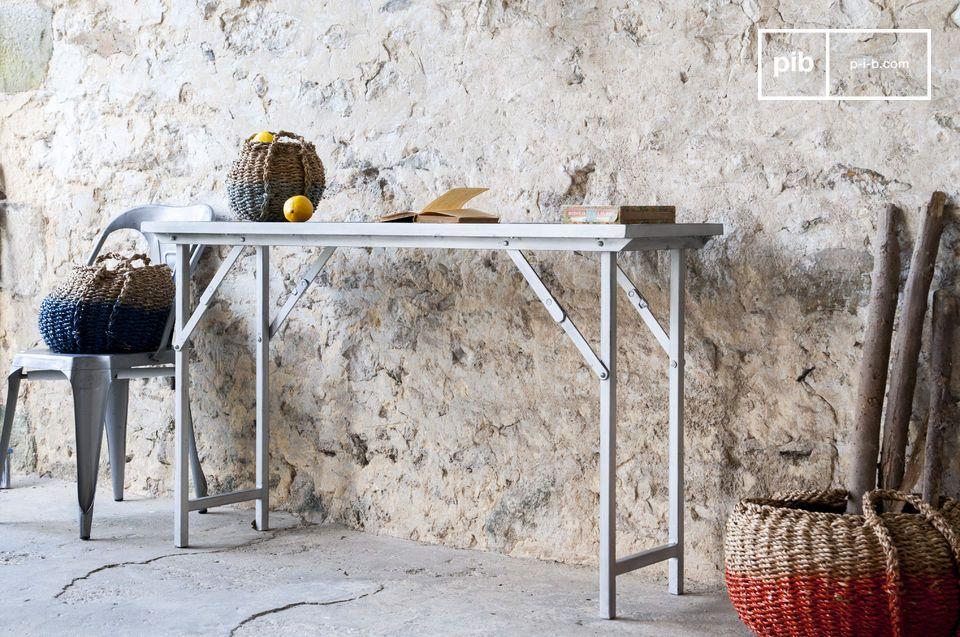 Console o scrivania, pieghevole e robusta