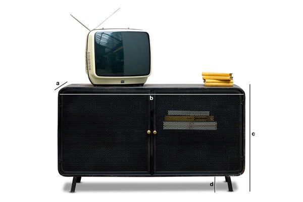 Dimensioni del prodotto Console TV Mill