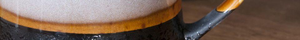 Materiali prima di tutto Coppia di grandi tazze Ceramix