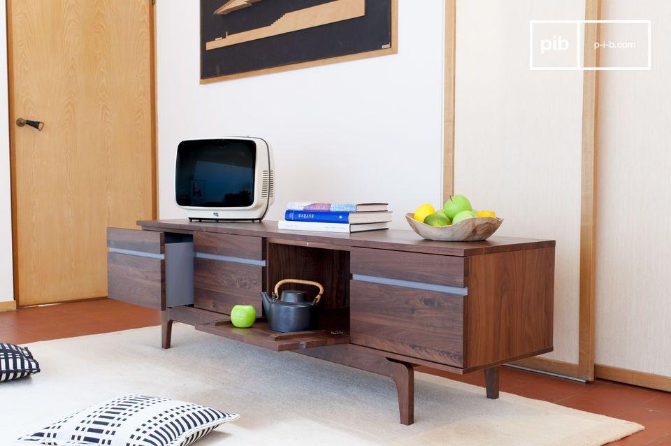 Elegante contenitore per TV o stoviglie