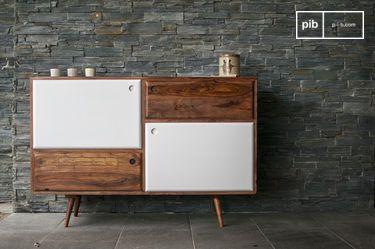 Credenza di design in legno 1969