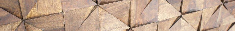 Materiali prima di tutto Credenza in legno Balkis