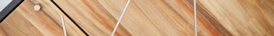 Materiali prima di tutto Credenza in legno Linéa