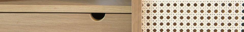 Materiali prima di tutto Credenza Tammea in legno di quercia