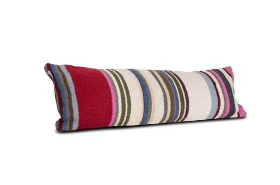 Cuscino a righe Stitch Foto ritagliata