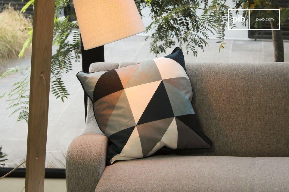 Questo cuscino è interamente realizzato con la migliore seta