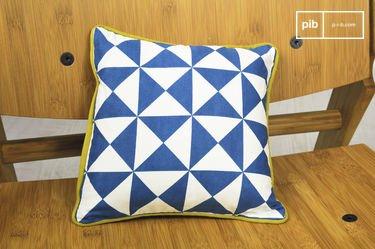 Cuscino blu piccolo Norway