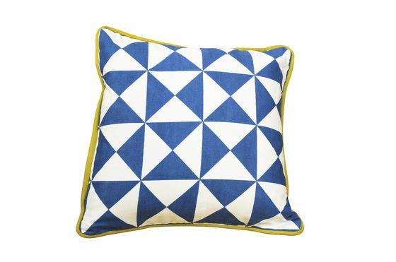 Cuscino blu piccolo Norway Foto ritagliata