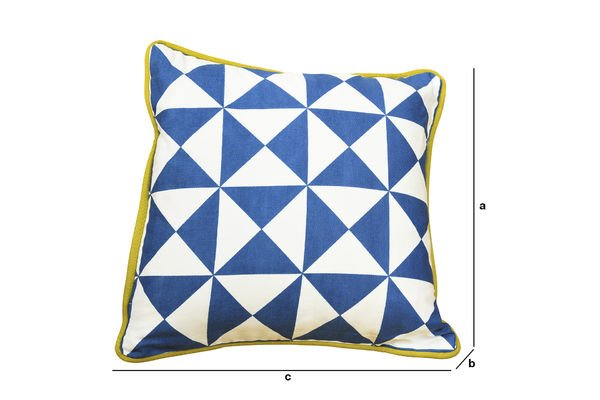 Dimensioni del prodotto Cuscino blu piccolo Norway