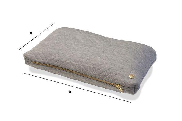 Dimensioni del prodotto Cuscino Quilt grigio pallido
