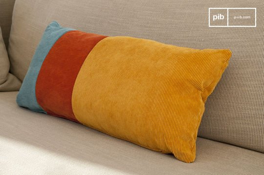 Cuscino tricolore Mathis