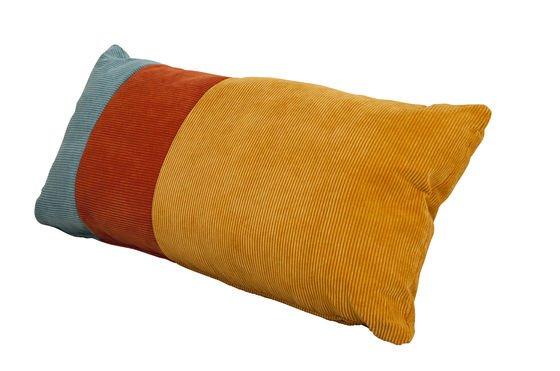 Cuscino tricolore Mathis Foto ritagliata