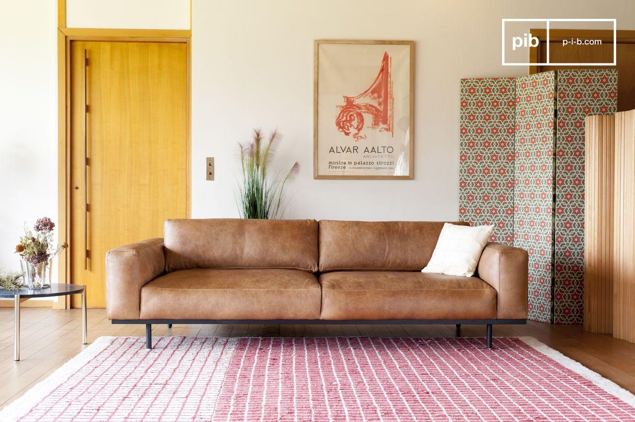 Cuscini Su Divano Marrone divano 3 posti almond marrone