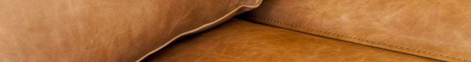 Materiali prima di tutto Divano 3 posti Almond marrone