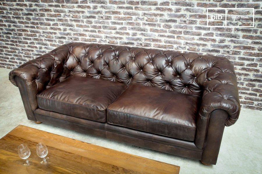 il divano chesterfield un nome una leggenda