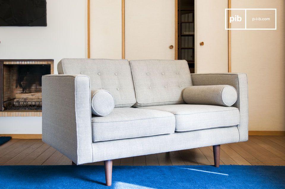 Un divano in tessuto che diventerà presto la vostra parte preferita del salotto
