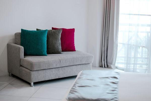divano letto in casa