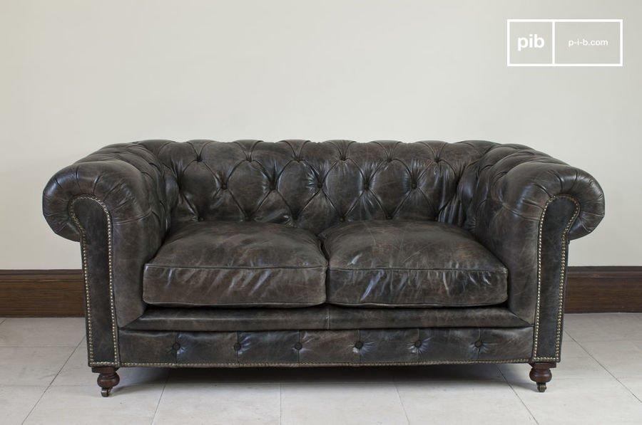 Divani Pelle Marrone Vintage : Il divano chesterfield un nome una leggenda