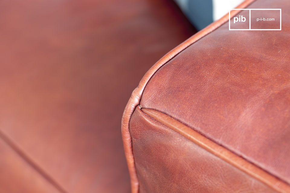 Un eccezionale divano in pelle