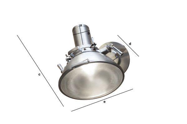 Dimensioni del prodotto Faretto Queen Mary