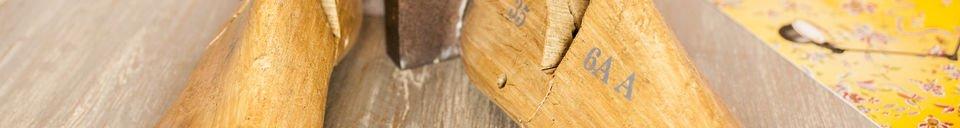 Materiali prima di tutto Fermalibri del calzolaio