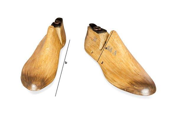 Dimensioni del prodotto Fermalibri del calzolaio