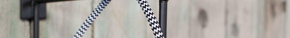 Gancio da muro preston realizzato in metallo pib for Appendini da muro