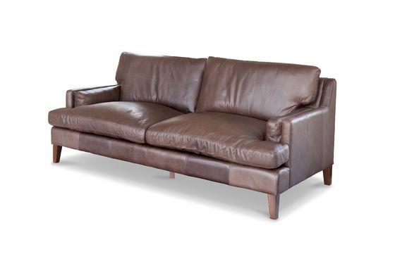 Grande divano in pelle Sanary Foto ritagliata