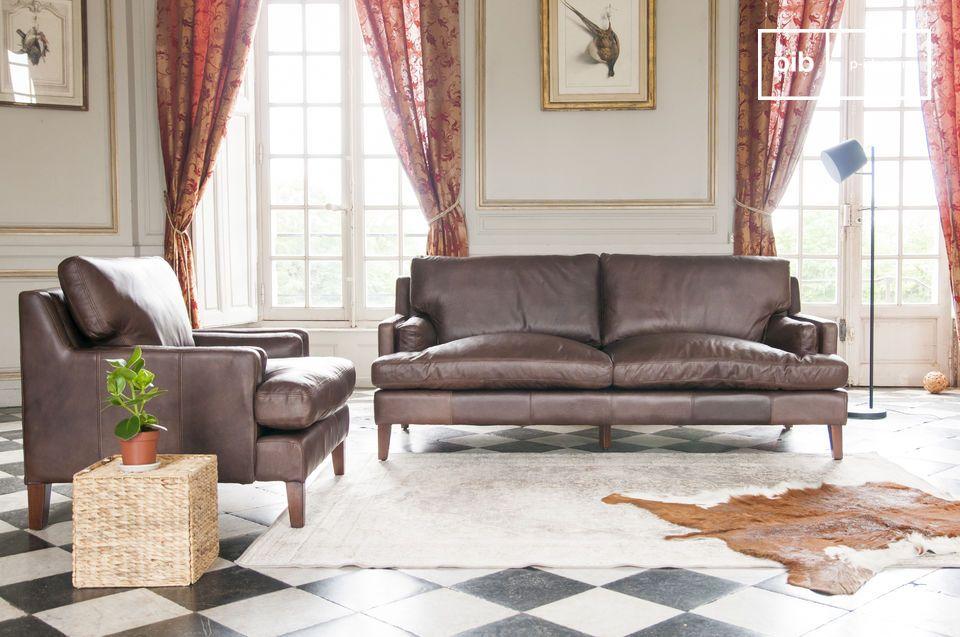 Potrai completare il tuo divano Sanary con una o due poltrone dalla stessa collezione